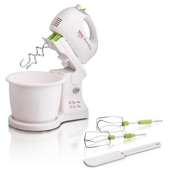 Tefal Prep'Line 5 Speed 450 Watt Stand Mixer
