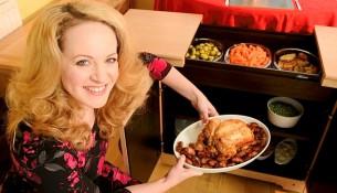 Hostess food warmer trolley makes a comeback