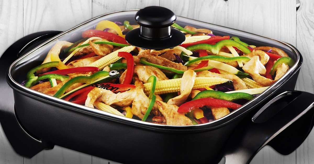 What Is Medium Heat In Electric Fry Pan